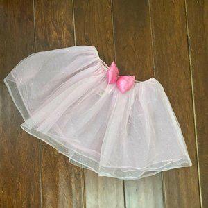 Disney Girls Tutu Size 3-8 Years Pink h&m Girls